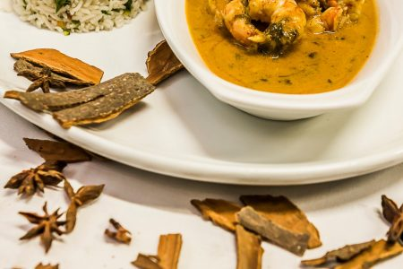 Aromatic Thai Prawn Curry
