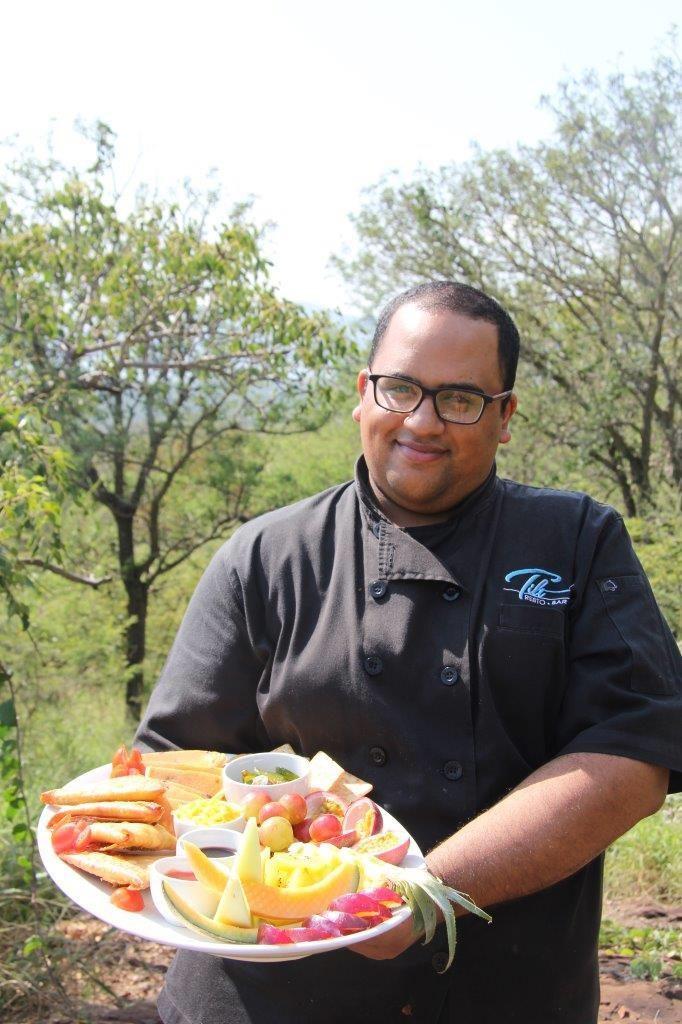 Chef Abdur, Mpeti Lodge, Mpeti Restaurant, Food, Foodie, Food platter